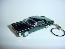 NEW 3D BLACK 1965 LINCOLN CONTINENTAL CUSTOM KEYCHAIN key keyring MATRIX NEO 007