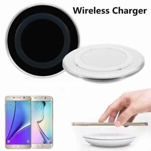 Wireless Charging Pad Slim Qi Fast Charger Dock Mat For OnePlus Samsung iPhone