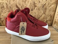 Clear Weather One-Ten Red Leather sz 8 NIB