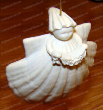 New ListingMargaret Furlong, Garland Sea Shell Angel Ornament (1995) Porcleain