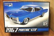MPC 1967 PONTIAC GTO 1/25 SCALE MODEL KIT
