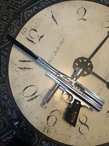 Warped Sportz / Sports Dark Angel Very Rare Paintball Gun / Marker Wdp , Wgp