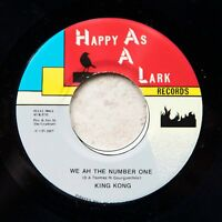 "King Kong - The Number One / Jahdan Blakkamoore - Give Praises REGGAE 7"" 45 Digi"