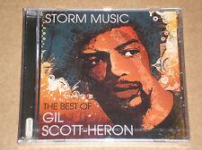 GIL SCOTT-HERON - STORM MUSIC: THE BEST OF - CD SIGILLATO (SEALED)