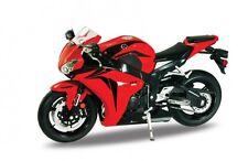 BLITZ VERSAND Honda CBR 1000 RR rot-schwarz Welly Motorrad Modell 1:10 NEU & OVP