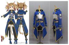 Sword Art Online 2 Phantom Bullet GGO Silica Keiko Ayano Cosplay Costume UK