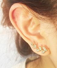 Small Leaf Helix Ear Cartilage Body Piercing Jewellery Tragus Bars Earring