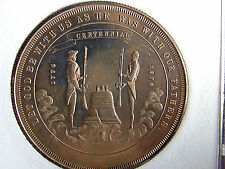 1776-1976 NEVADA'S COMMEMORATIVE MEDALLION IN LUCITE HOLDER NUMBER WITH PAPERS