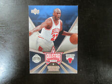 2006-07 Upper Deck All Star # AS 5 Michael Jordan Card (J) Chicago Bulls