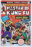 Master of Kung Fu #45 Signed w/COA by Paul Gulacy 1976 FF+ Marvel Comics Bronze