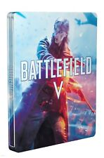 BATTLEFIELD V 5 NEW STEELBOOK PS4 PC XBOX ONE G2 SIZE METAL CASE SEALED