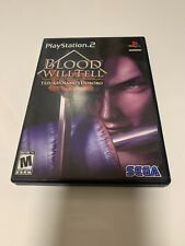 Blood Will Tell - PS2 - PlayStation 2 Original Case and Original Insert Cover