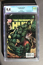 Incredible Hulk #92 first PLANET HULK 2006 2nd Scarcer HITCH VARIANT CGC NM 9.4