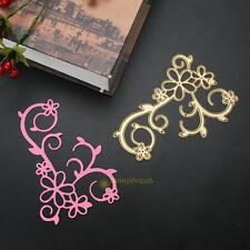 Gold Flower Metal Cutting Dies Stencil DIY Scrapbooking Embossing Paper Craft