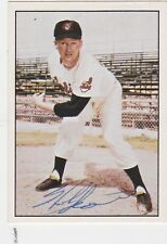 HERB SCORE Cleveland Indians  Autographed 1979 TCMA baseball card #134