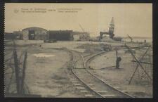 Postcard ZEEBRUGGE BELGIUM  WWI Destruction Naval Installation 1910's