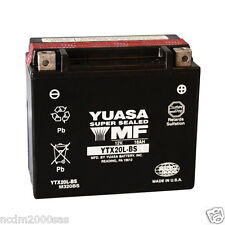 BATTERIE YUASA YTX20L-BS 12V 18Ah BOMBARDIER-CAN AM RENEGADE-X 800 2009 2010