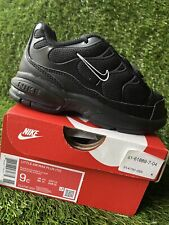 TODDLER BOY: Nike Little Air Max Plus, Black - Size 9C 314730-053
