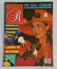 Royalty Monthly Magazine July 1988 The Real Princess Caroline Royal Derby Day