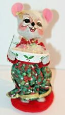 """Annalee Dolls 2009 6"""" Inch Candy Dish Mouse"""