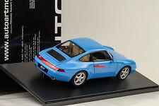 1995 Porsche 911 993 Carrera Riveria blau 1:18 Autoart 78133