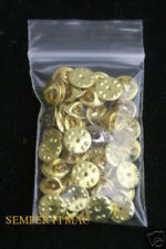 25 SILVER METAL HAT PIN BACKS DISNEY MOUSE PINS BUTTERFLY CLUTCH TACS BUTTOMS