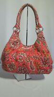 """Vera Bradley  """"Call Me Coral"""" Purse & Wallet / Retired / Pre-Owned"""