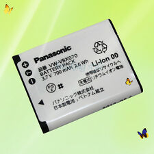 Genuine Original Panasonic VW-VBX070 battery HX-WA10 HX-DC3 DC2 HM-TA20, HM-TA2