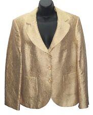 Gold Jacket by Jobis/ Size 12 / Cotton Blend