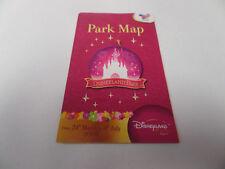 Plan en anglais de Disneyland Paris (2003) Park map
