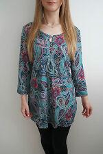 Tunic, Kaftan Viscose Paisley Tops & Shirts for Women