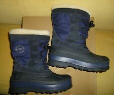 UGG Bobbey Snow Boots Navy Youth Size US 4