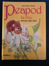 PEAPOD THE PIXIE - BARBARA HAYES & MARY BROOKS - Purnell Children RARE 1980