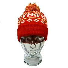 Liverpool Bobble Hat & Glove Set Birthday Gift Red One Size
