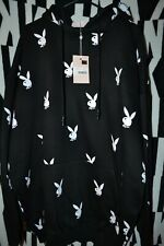 PLAYBOY BUNNY Missguided Logo Bunny Hoodie Sweatshirt Oversized Dress Fleece 8