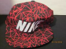 f5fccb6d NIKE Air Hat Snapback One Size Fits Most black & red Cotton Snap Back j89