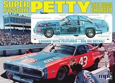 MPC 767 Richard Petty 1973 Dodge Charger Stock Car model kit  1/16