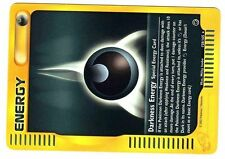 POKEMON EXPED ENG RARE N° 158/165 DARKNESS ENERGY