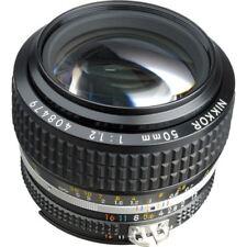 Nikon Nikkor Ai-S 50mm f/1.2 Lens