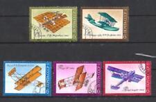 Avions Russie URSS (55) série complète de 5 timbres oblitérés
