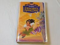 Walt Disney Masterpiece The Hunchback of Notre Dame VHS Video Tape