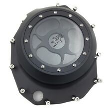See Through Engine Clutch Cover For Suzuki Gsx1300R Hayabusa B-King 1999-2013 Bk