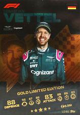 Turbo Attax F1 - LE4 - Sebastian Vettel - Limitierte Karte - 2021