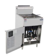 Atosa Atfs 75 Hd 75lb Ss Commercial Kitchen Natural Gas Deep Fryer