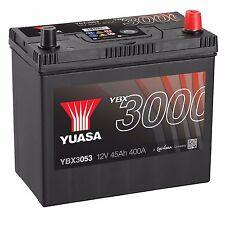 Yuasa YBX3053 12V Car Battery 45Ah 400A 053 Type Sealed Maintenance Free