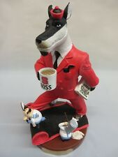 North Carolina State Wolfpack Boss Rivalry Football Rare Collectible Figurine
