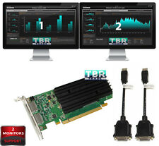 NEW nVidia Quadro NVS 295 2 Dual Monitors Support 256MB DDR3 Video Graphics Card