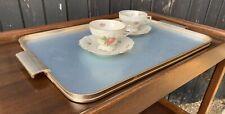 Vintage Woodmet Tea / Drinks Tray
