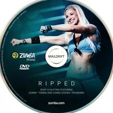 Zumba DVD Ripped in OVP 2in1 Körperstraffung Fitness Exhilarate 100% Original