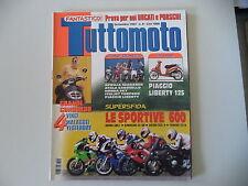TUTTOMOTO 9/1997 CAGIVA PLANET 125/PROGRESS 50/DUCATI 900 SS/HONDA VTR 1000/CBR